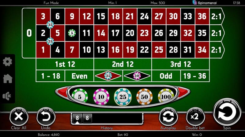 Изображение игрового автомата European Roulette 2