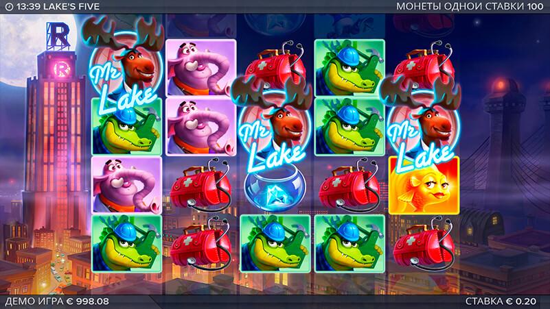 Изображение игрового автомата Lake's Five 1