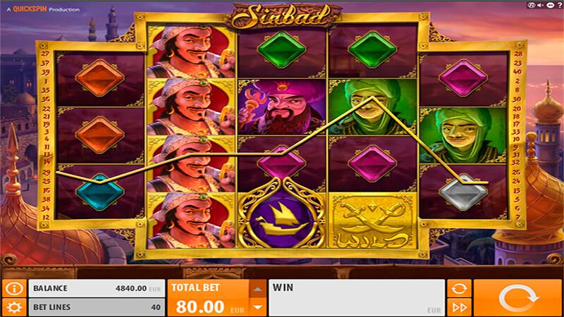 Изображение игрового автомата Sinbad 2