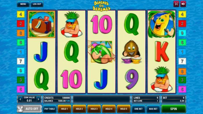 Изображение игрового автомата Bananas Go Bahamas 2