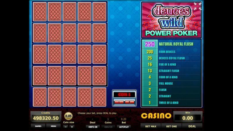 игровые video автоматы poker