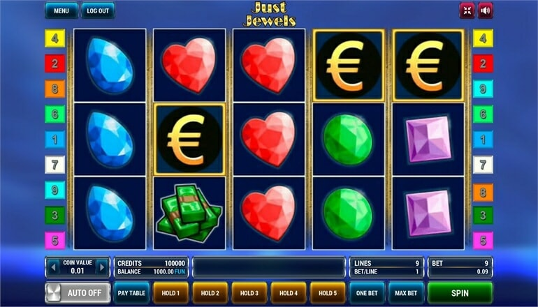 игровой автомат just jewels с сундуками