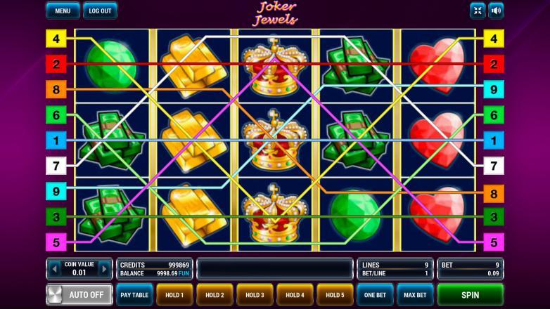 Изображение игрового автомата Joker Jewels 1