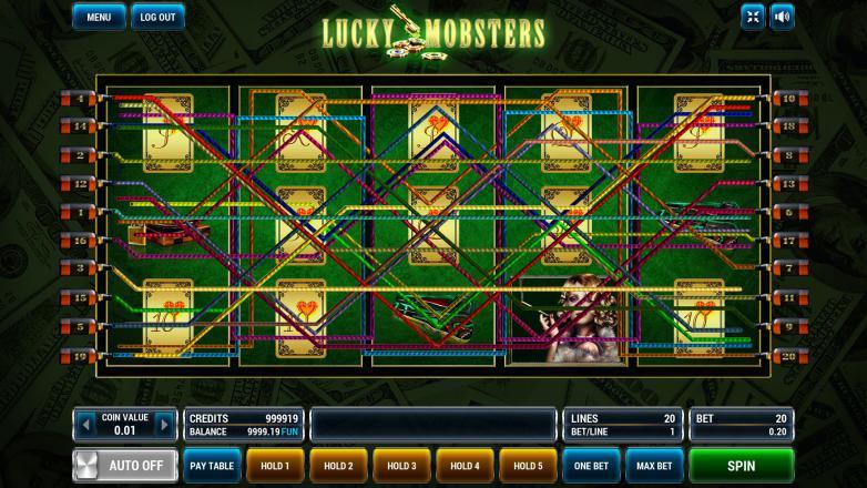 Изображение игрового автомата Lucky Mobsters 1