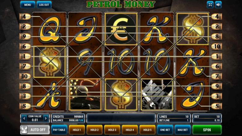 Изображение игрового автомата Petrol Money 1